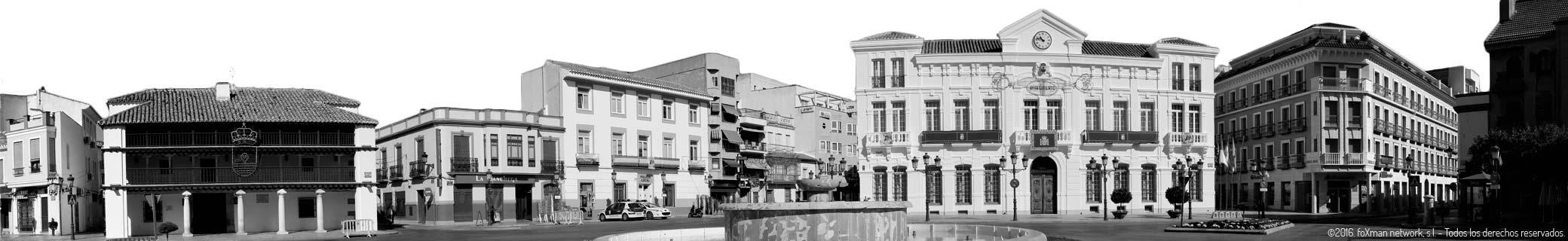 Tomelloso panorámica Plaza de España